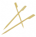 Bamboo 'Paddle Ended' Skewers (7'' Pack of 100)